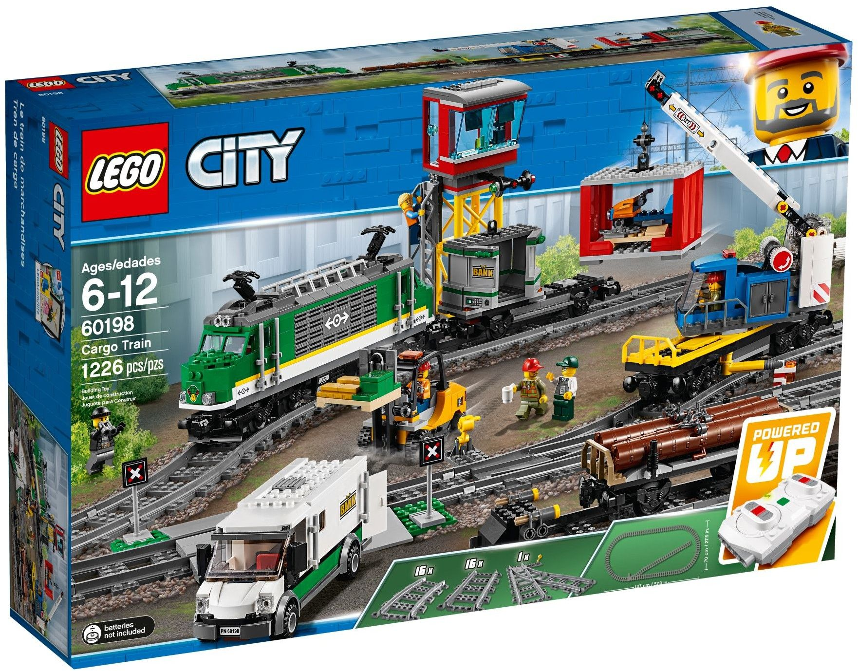 View Lego Instructions For Cargo Train Set Number 60198 To Help You Build These Lego Sets Lego City Cargo Train Lego City Train Lego City