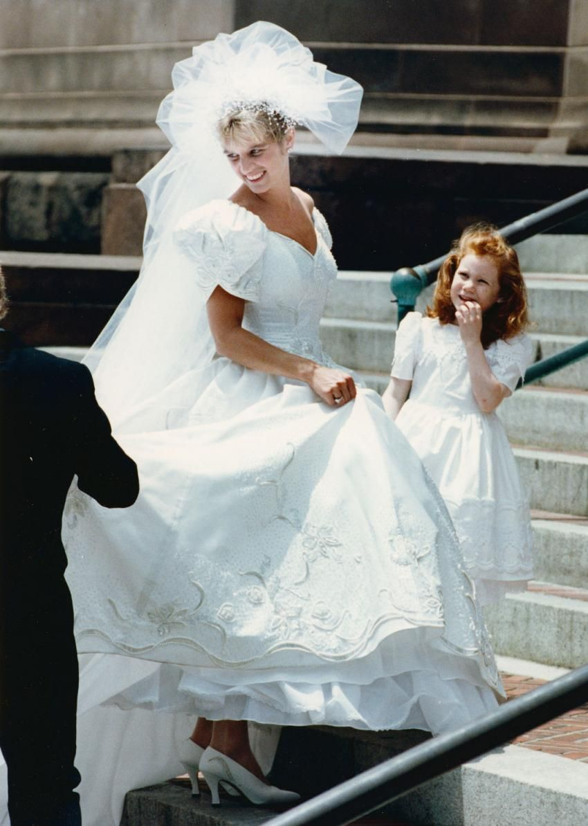 Kerry Kennedy Gets Ready To Marry Andrew Cuomo Married Andrew Cuomo Flower Girl Dresses