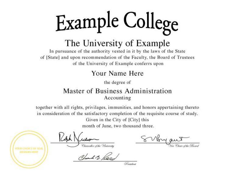 Fake Diploma Certificate Template 2 Best Templates Ideas For You Best Templates Ideas For You