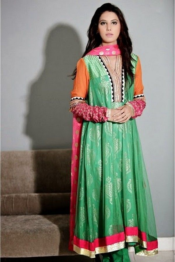 Designer Dresses, Eid Dresses, Eid-Collection, Embroidery, Evening ...