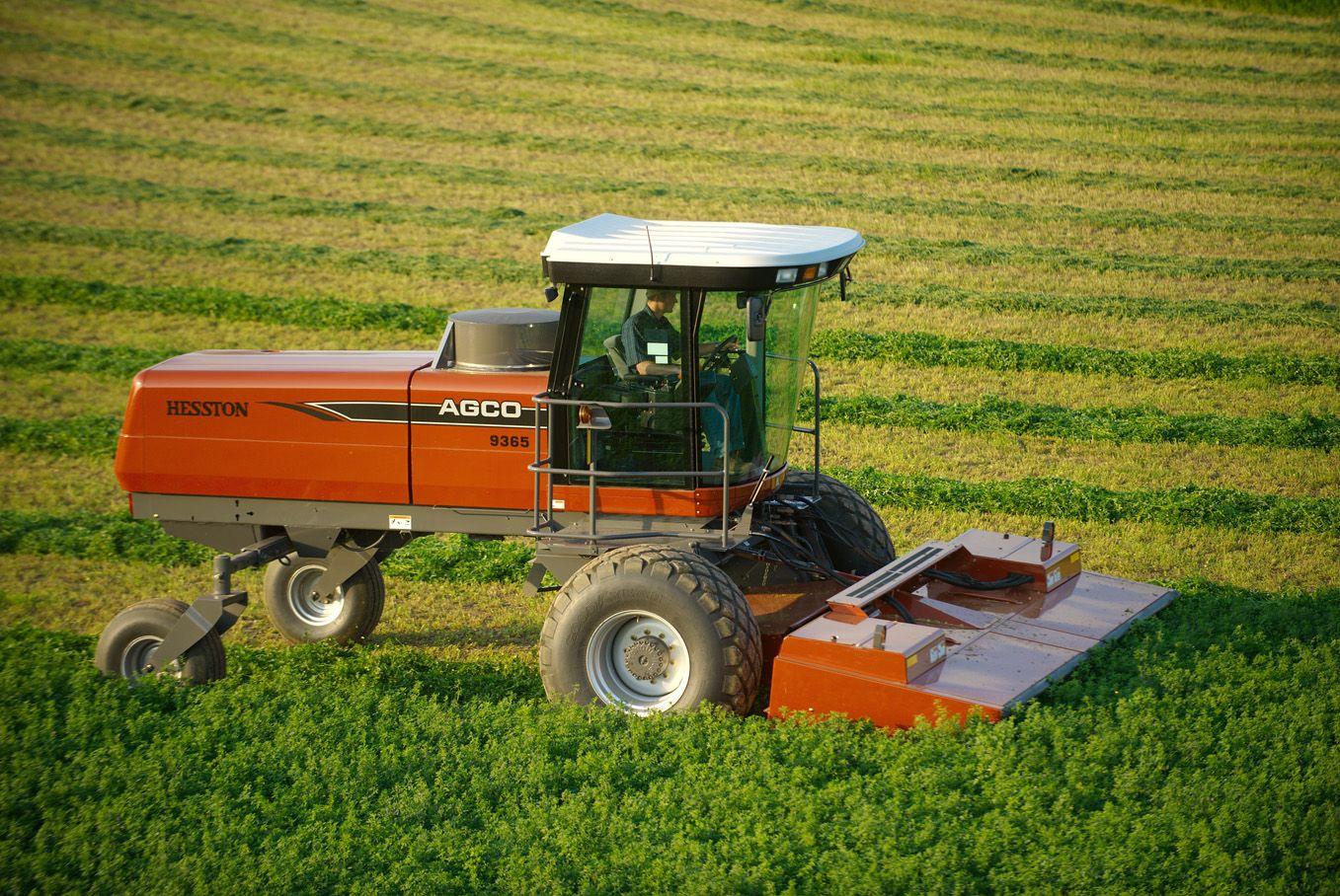 MF 9635 Hesston swather - | Hesston, Kansas | Tractors, Farm life