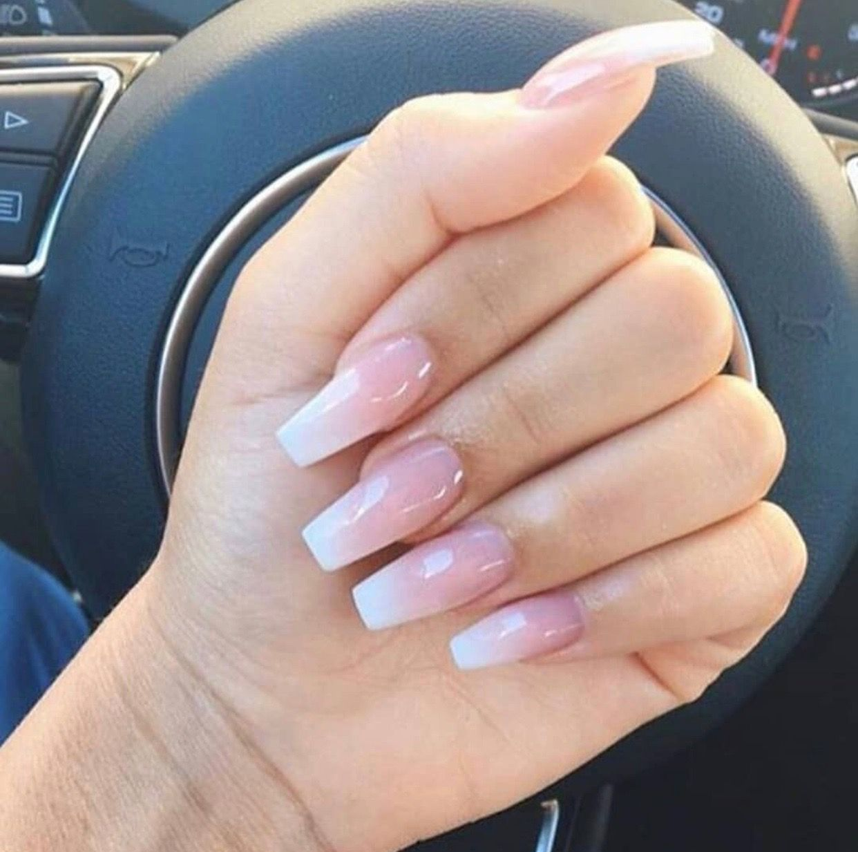 Pin By Candaceniicole On Nail Art Acrylic Nails Coffin Pink Pink Ombre Nails Ombre Nails