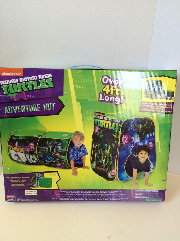Nickelodeon Teenage Mutant Ninja Turtles Adventure Hut Tent Playhut 3+ #Playhut & Nickelodeon Teenage Mutant Ninja Turtles Adventure Hut Tent ...