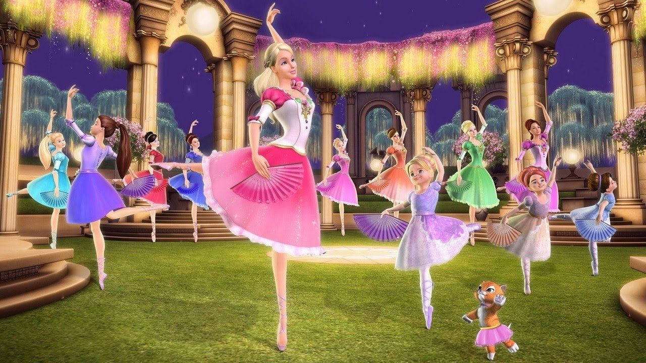Barbie Em As 12 Princesas Bailarinas Film Completo Dublado