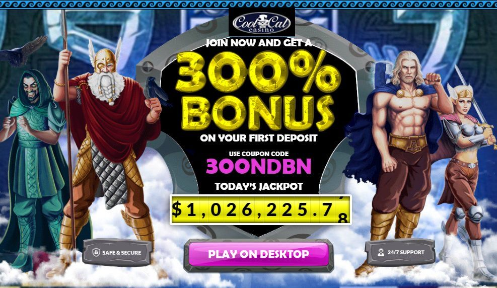 Cool Cat casino 300 no rules bonus Casino, Cool cats, Bonus