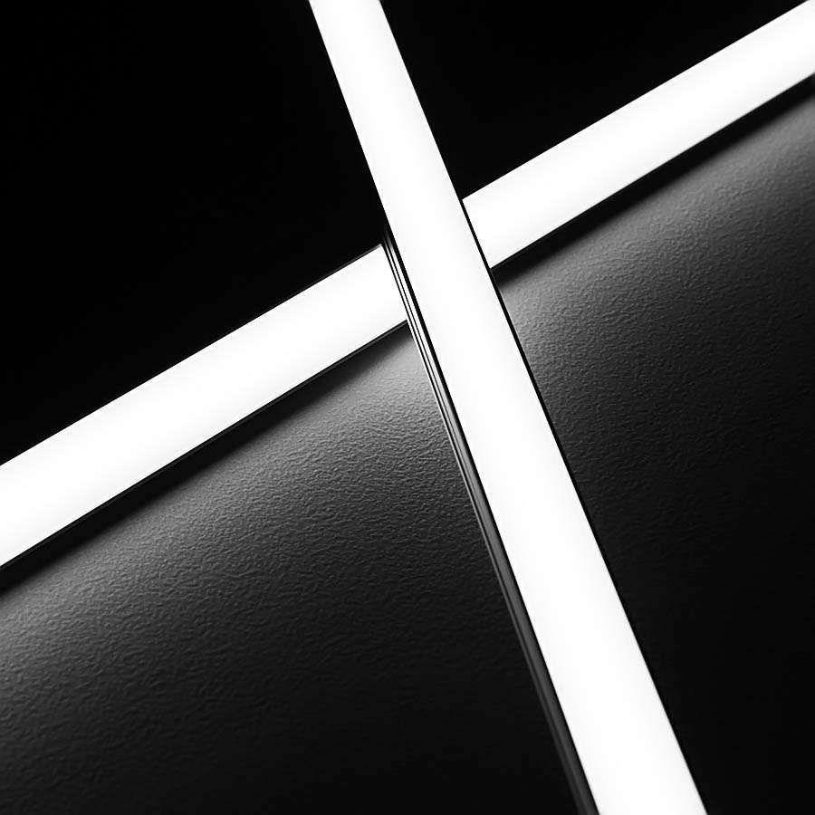 50cm Lange 12v 96 Leds Lichtleiste Im Aluprofil Wasserfest Vergossen Und Mit Diffuser Schutzabdeckung Smd Led Technik Leuch Led Lichtleiste Led Feuchtraumlampe