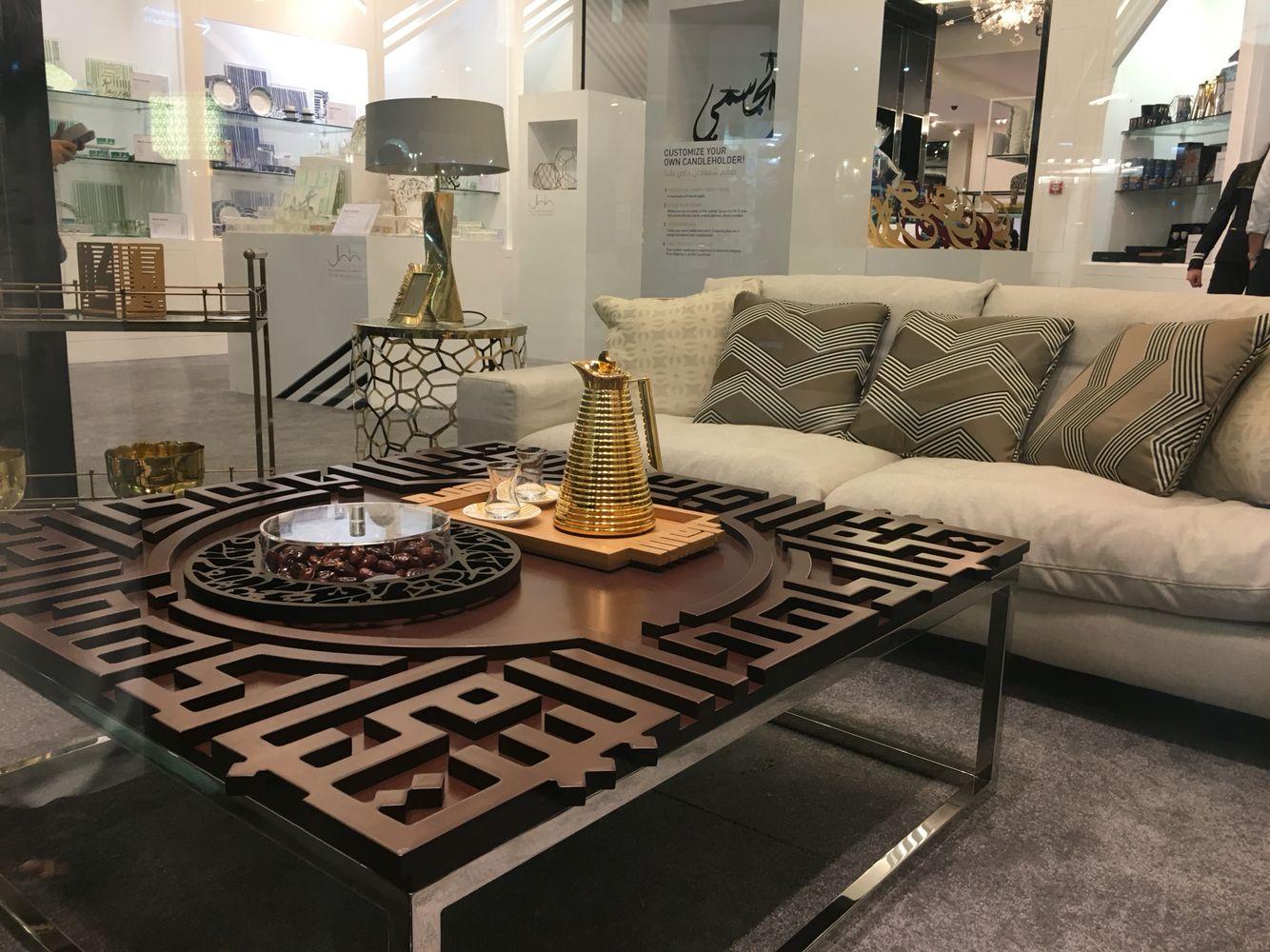 mubarak coffee table kashida bespoke furniture pinterest