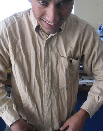 Fashion mistakes men make - wearing wrinkled clothes ...