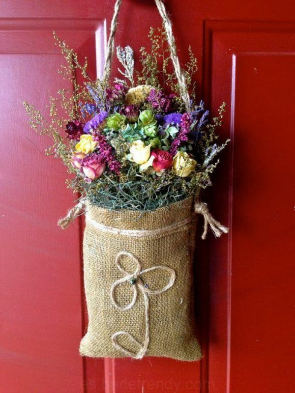 Trockenblumen Dekoration Ideen