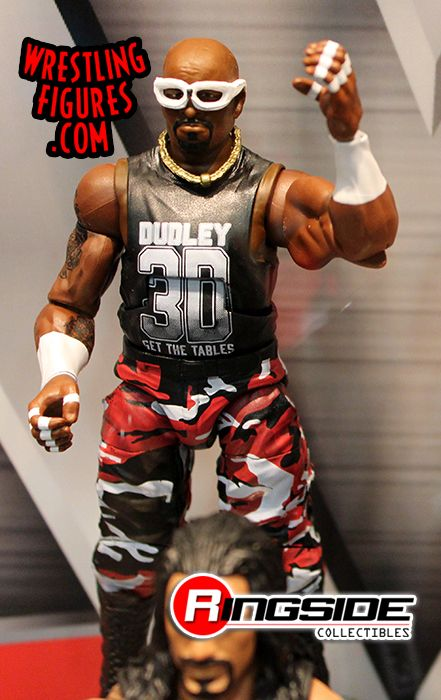 WWE D-VON DUDLEY DVON TABLE ACCESSORIES ELITE SERIES 45 WRESTLING FIGURE ACTION