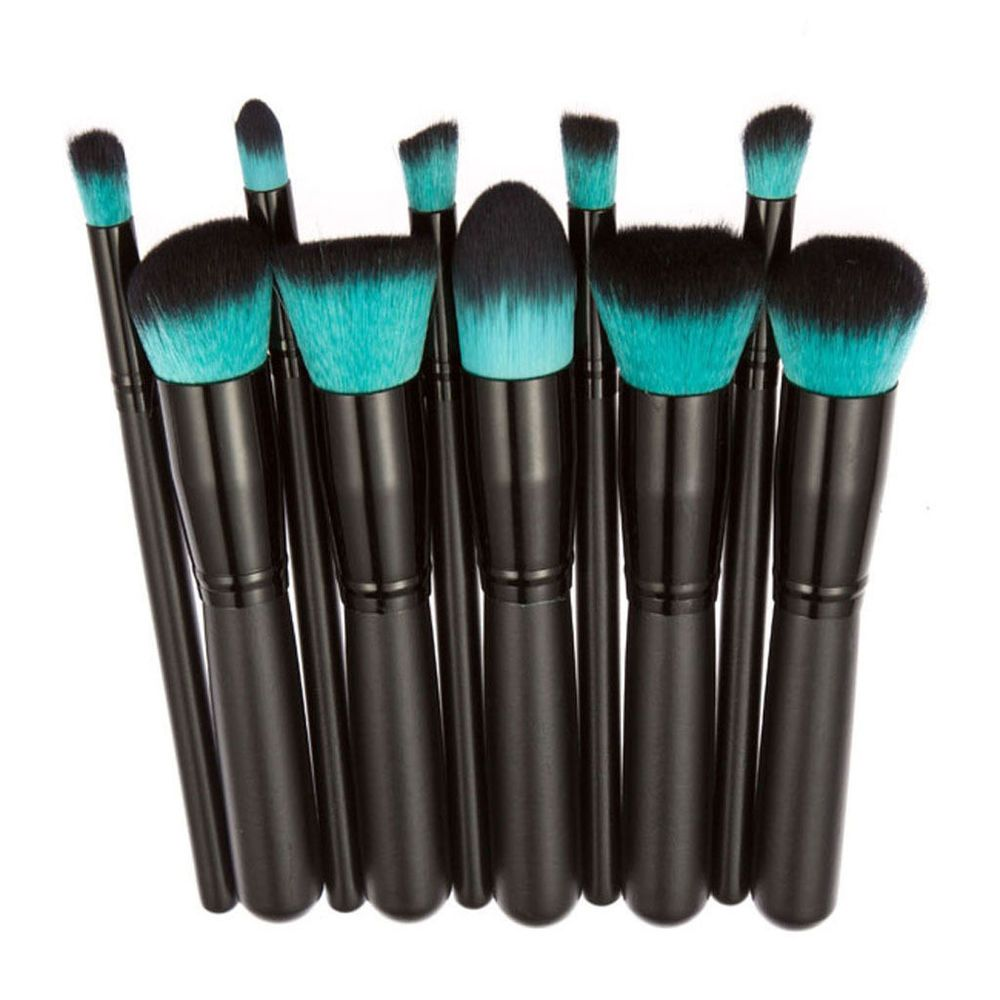 Pinsel Set Neu 10tlg Professionelle Lidschatten Pinsel Set Make Up Kosmetik