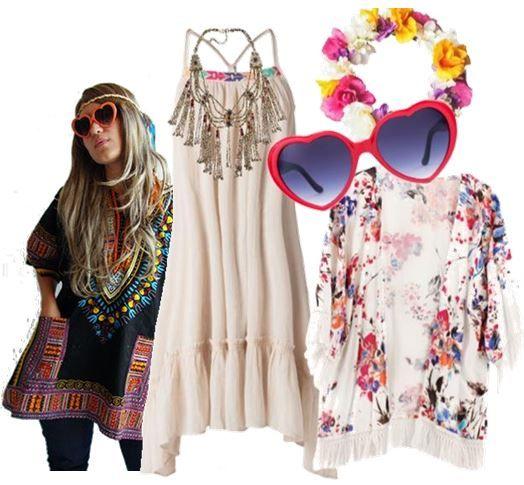 Robe cг©Іг©onie hippie chic