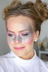 Galaxy Girl Makeup