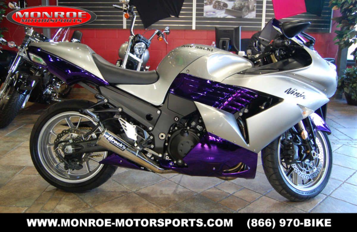 Crotch Rocket For Sale >> Purple Ninja Motorcycle Kawasaki Ninja Crotch Rocket For