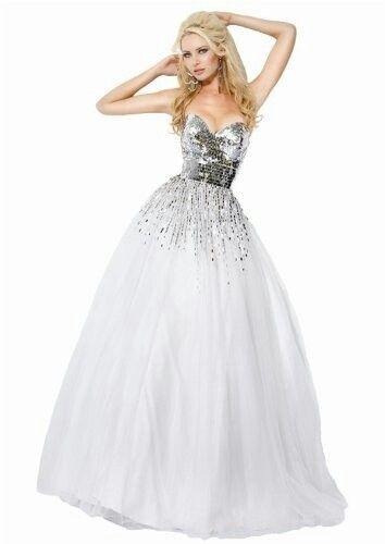 Wedding Dress Metallic