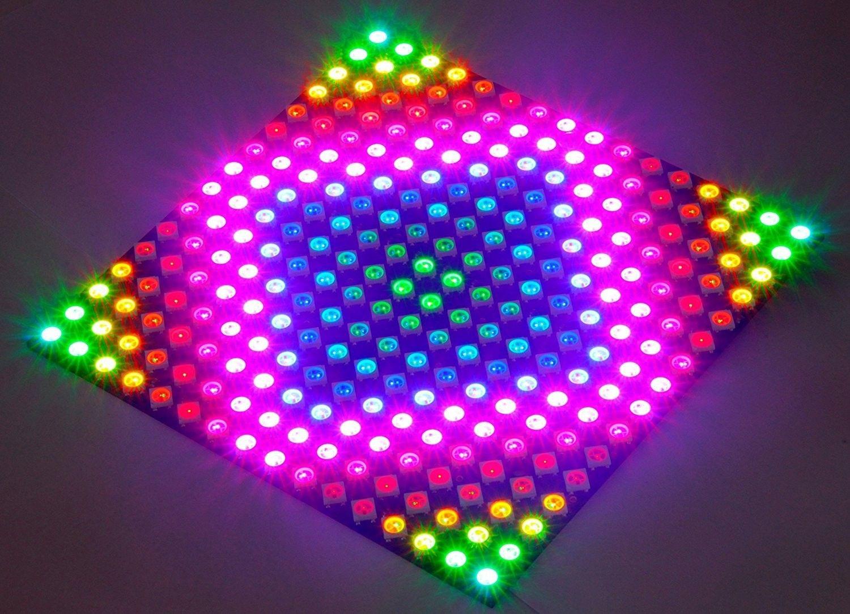 16x16 256 Pixels WS2812B 5050 RGB LED Panel - Individually ...