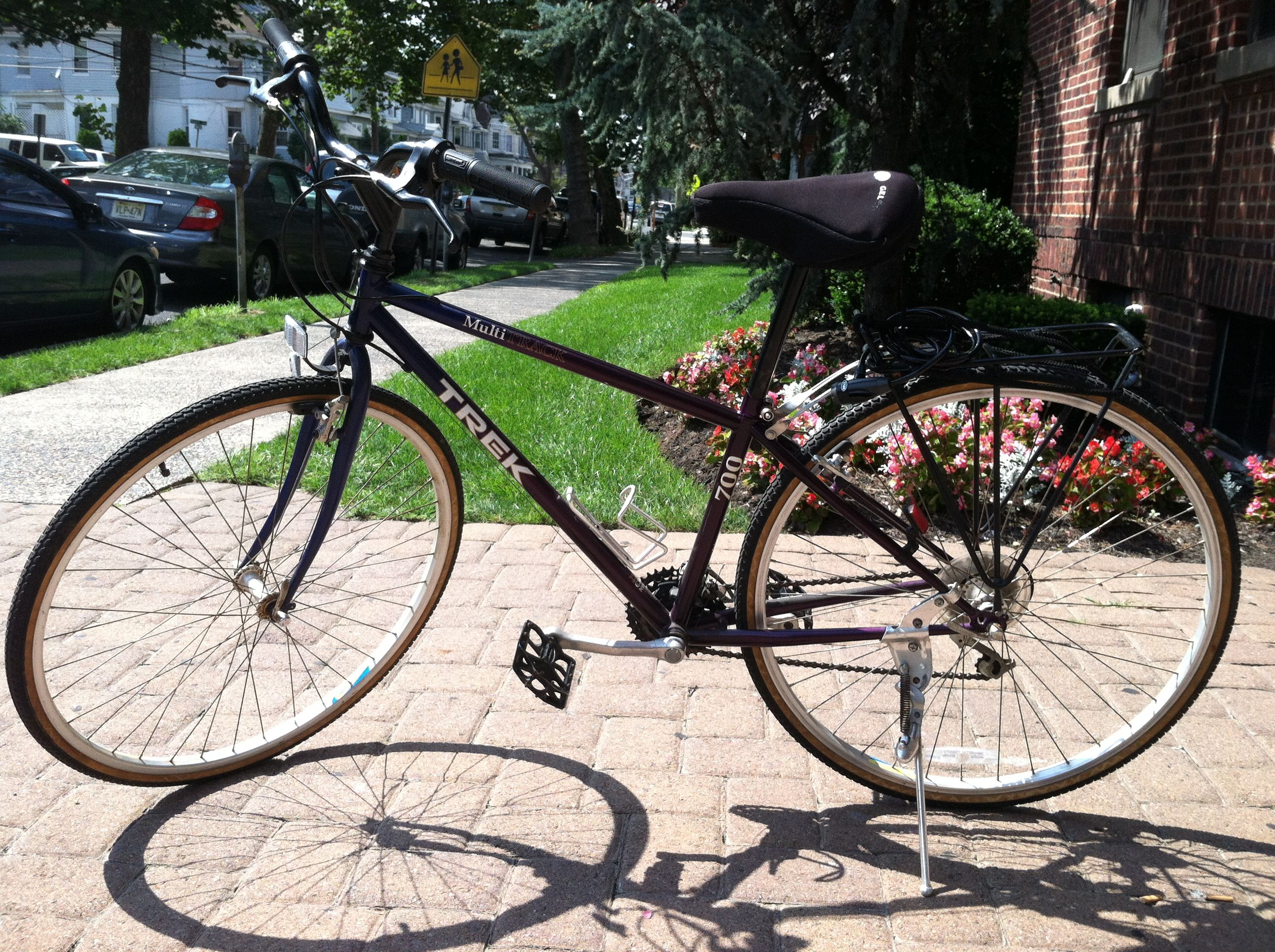 WOMENS TREK MULTI TRACK 700 HYBRID MOUNTAIN BIKE.   Bicycle bicycle ...