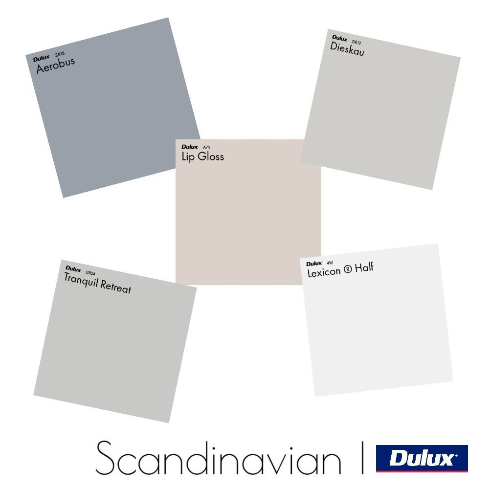 Dulux Scandinavian Colour Palette Mood Board Style Sourcebook In 2020 Color Palette Interior Design Scandinavian Bedroom Color House Color Palettes