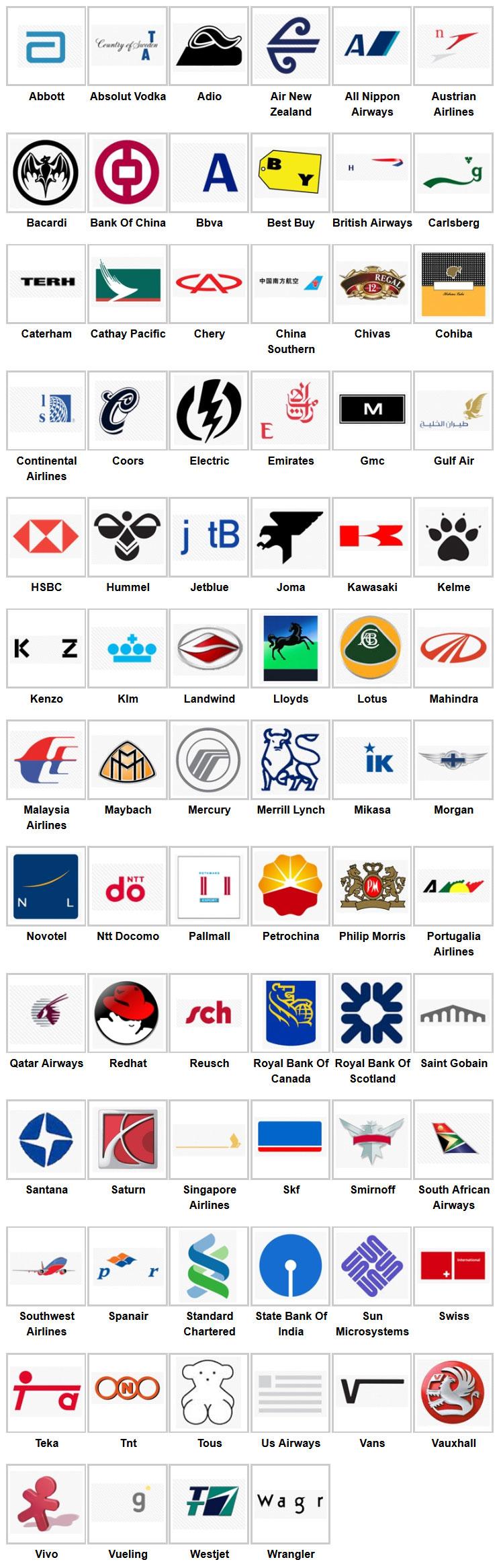 Logo quiz8 Logo quiz answers, Logo quiz, Game logo
