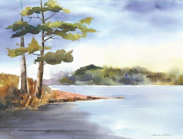 Easy Watercolor Paintings Of Nature Cronin Watercolors At Zoot