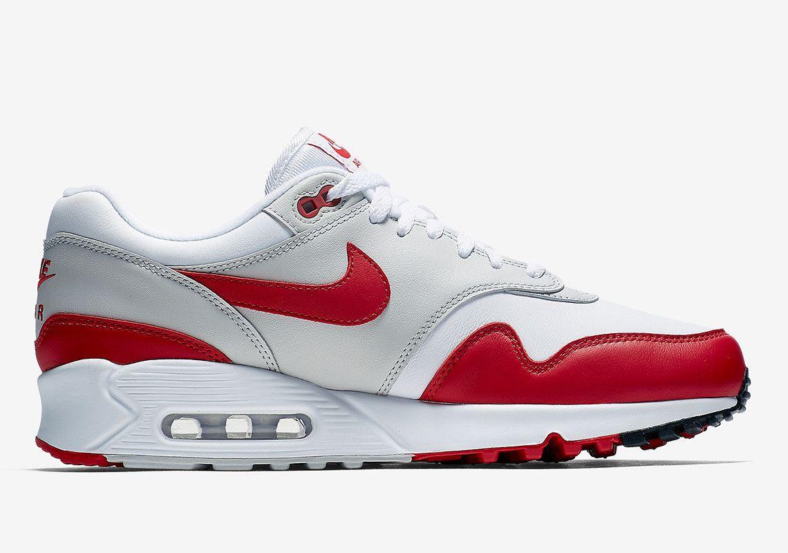 ffb4383231a9a2 The Original Nike Air Max 1 Sport Red Returns With An Air Max 90 Sole