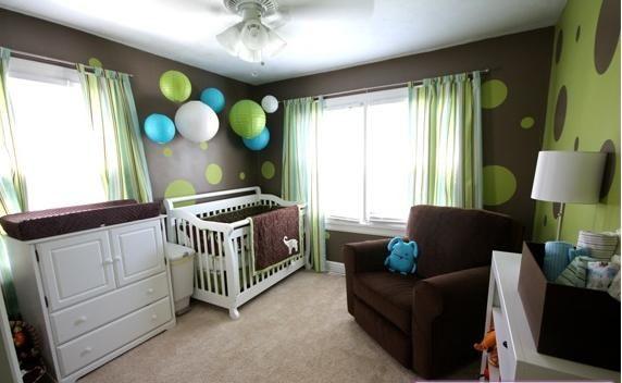 La Habitacion Del Bebe En Color Chocolate Decoracion Cuarto Bebe Dormitorio Bebe Habitaciones Bebes