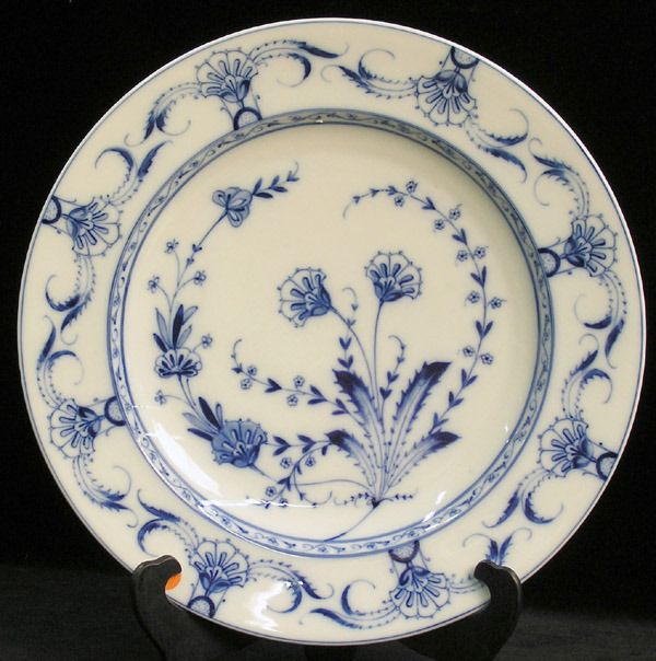 Continental 19th C. Porcelain Charger