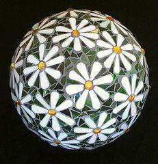 Decorative Mosaic Balls Mosaic Gazing Bowling  Flickr The Mosaic Balls Pool  Mosaics