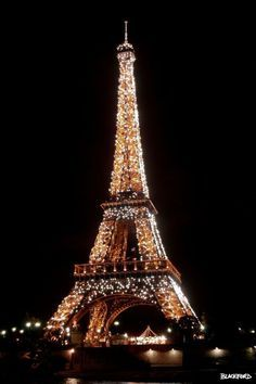 Eiffel Tower Sparkling by Al Blackford #eiffeltower