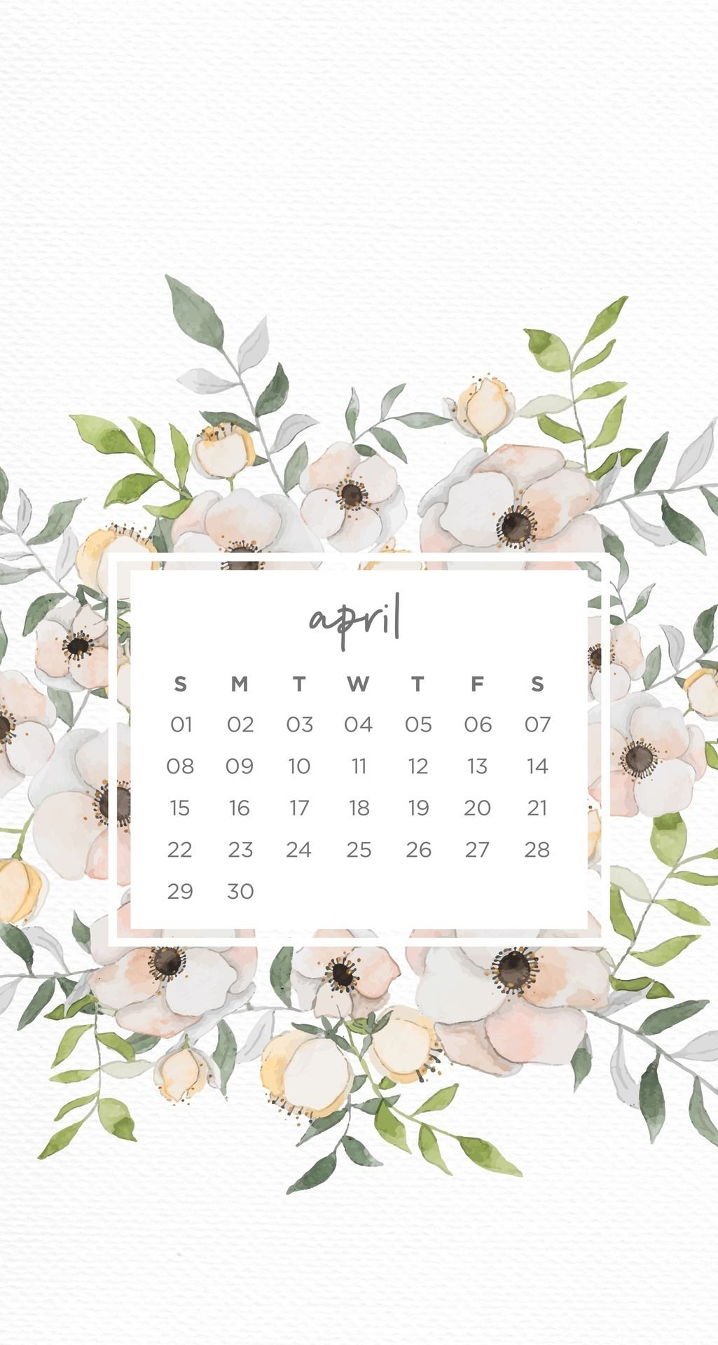 Pin By Napatsorn T On Wallpapers Calendar Wallpaper Spring