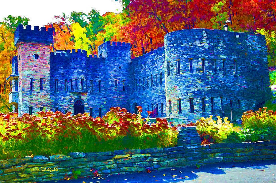 Art Photograph - Colors Of The Castle by Litchfield  Artworks
