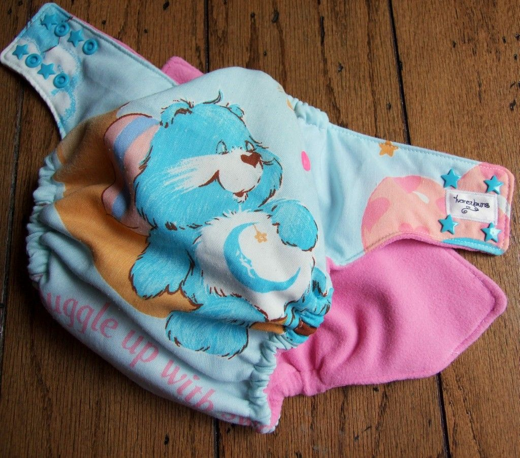 Goodnight Care Bear One Size Pocket Cloth Diaper By
