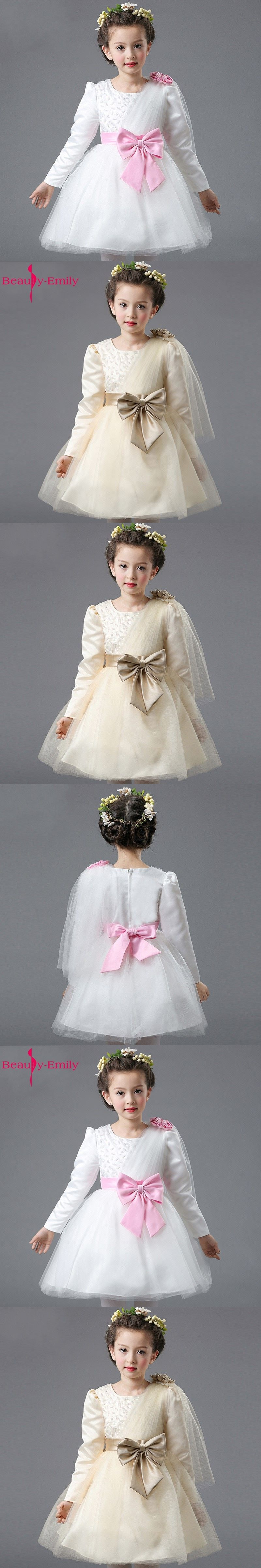 Beautyemily flower girl dresses childrenus party prom dresses