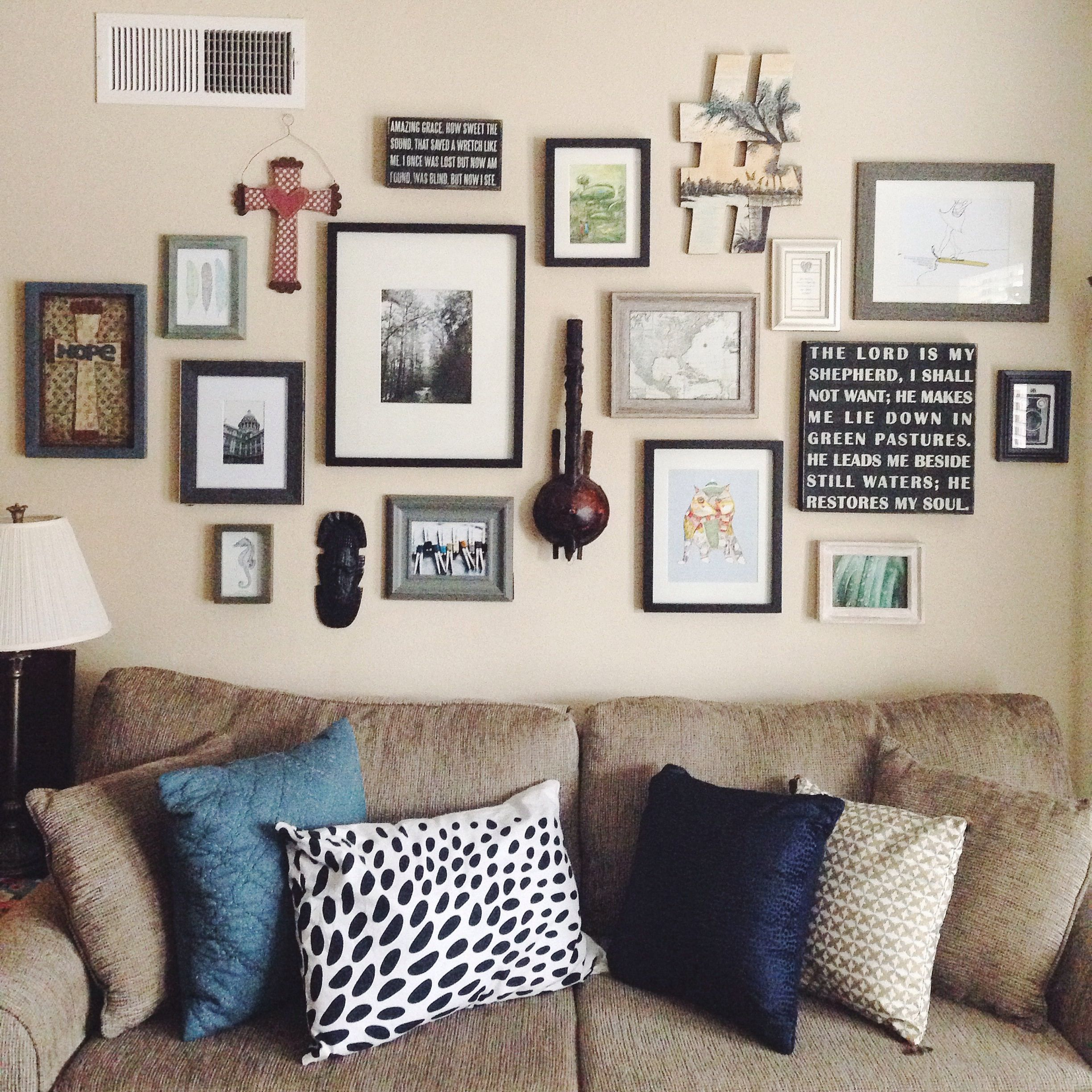 My art gallery wall at home photo frames also rh za pinterest