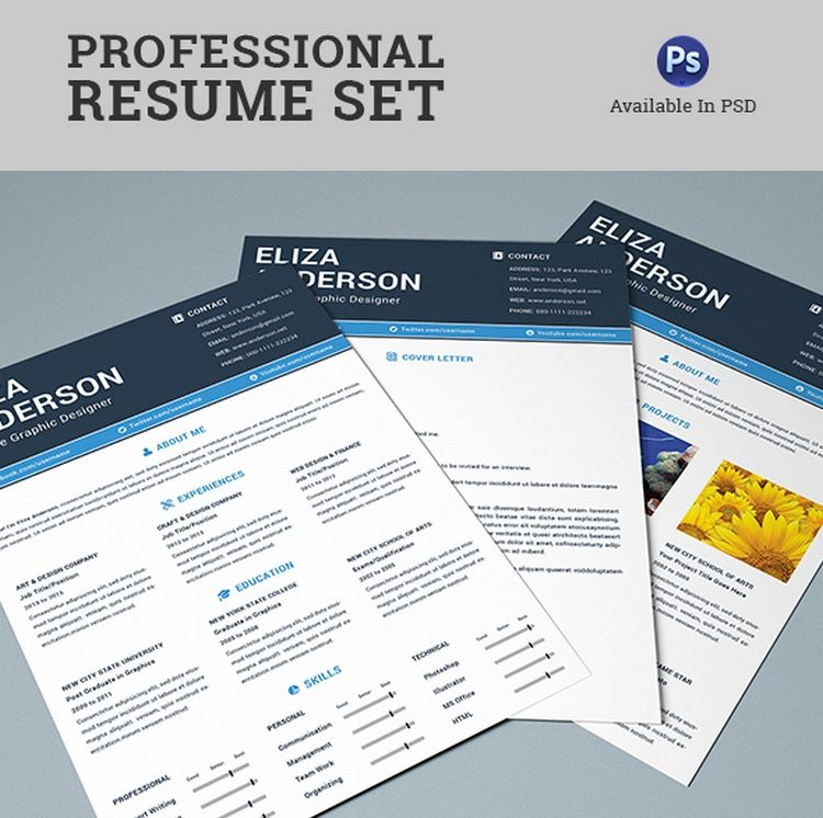 Impress your future employer with an exquisite 4 pages Free - resume 4 free