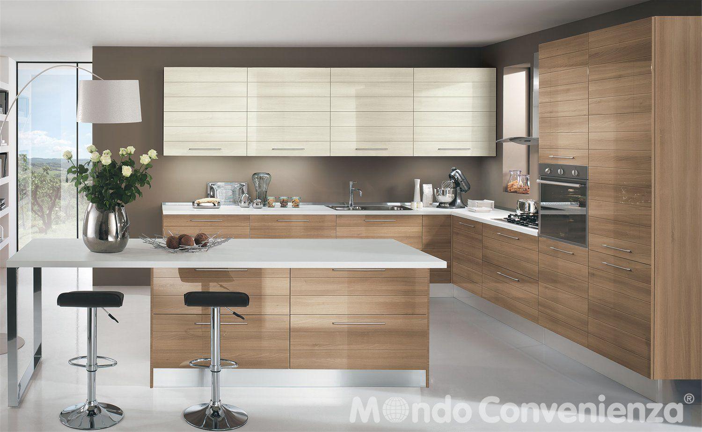 EQUILIBRIO ZEN Cucine Moderne- Time - Mondo Convenienza - La ...