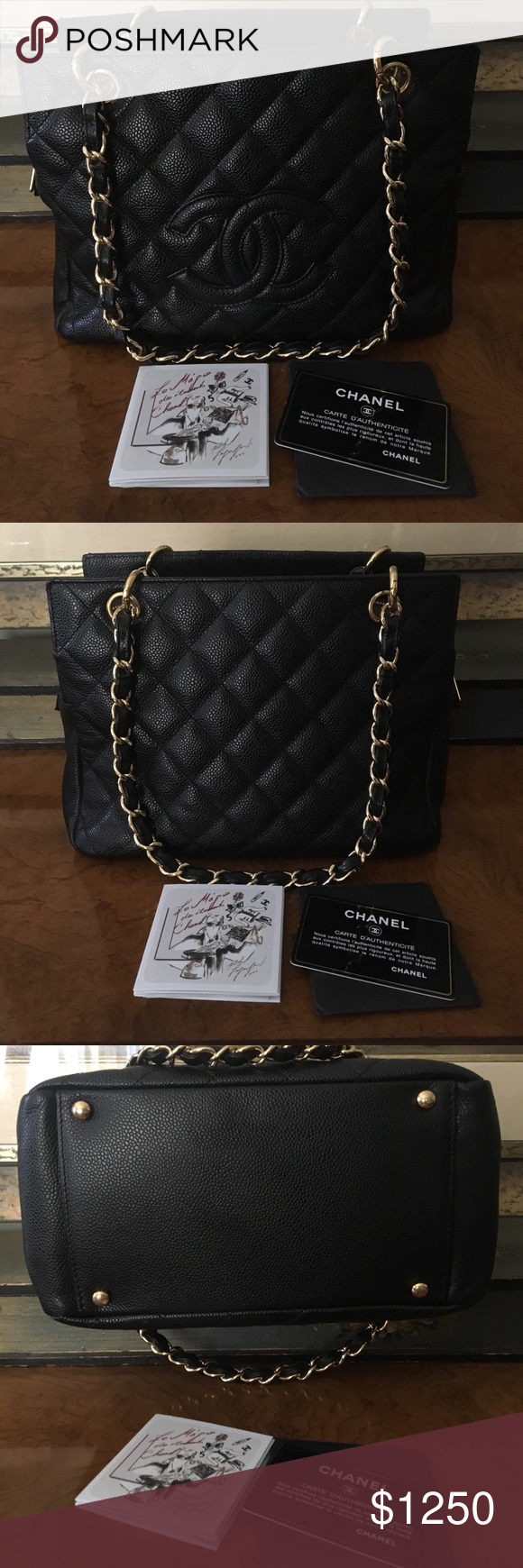 3a0c4c6182efd5 Chanel Petite Timeless Tote (PTT) 100% authentic Chanel. Discontinued Petite  Timeless Tote