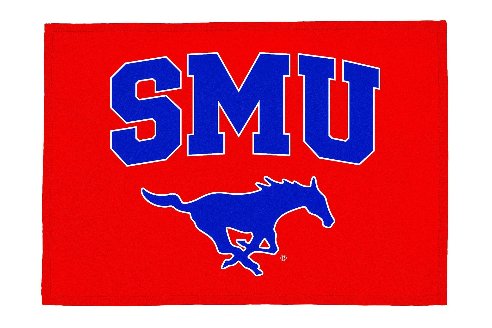 SMU TX State Mustangs Southern Methodist University 3/' x 5/' Flag
