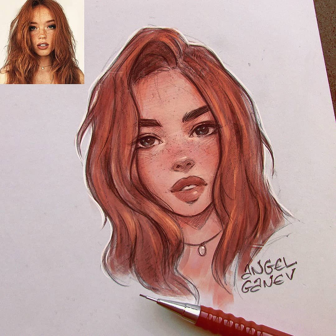 Angel Ganev Angelganev Instagram Photos And Videos Drawings Drawing People Sketches