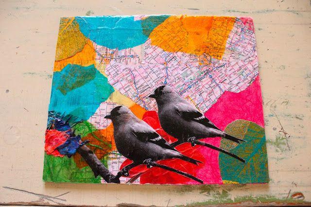 Color Splashing: Collage Art #1