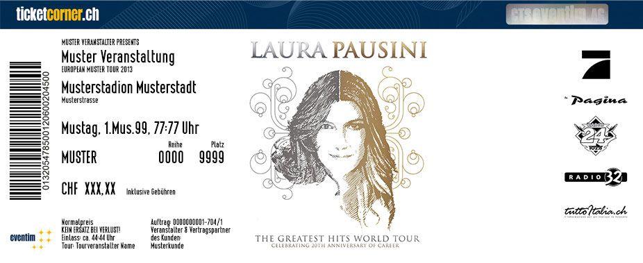 Nach 20 Jahren Erfolg Und Einer Unvergleichlichen Karriere Macht Sie Im Rahmen Ihrer The Greatest Hits World Tour Am 6 Februar Eventim Veranstaltung Ticket