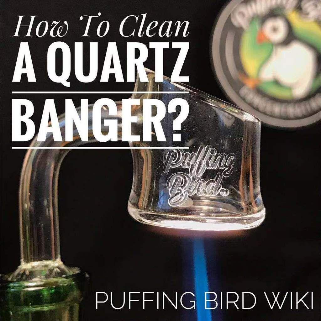 How To Clean Quartz Bangers Quartz banger, How to clean