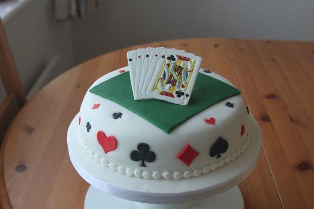 Deck Of Cards Birthday Cake When I Say I Do Pinterest