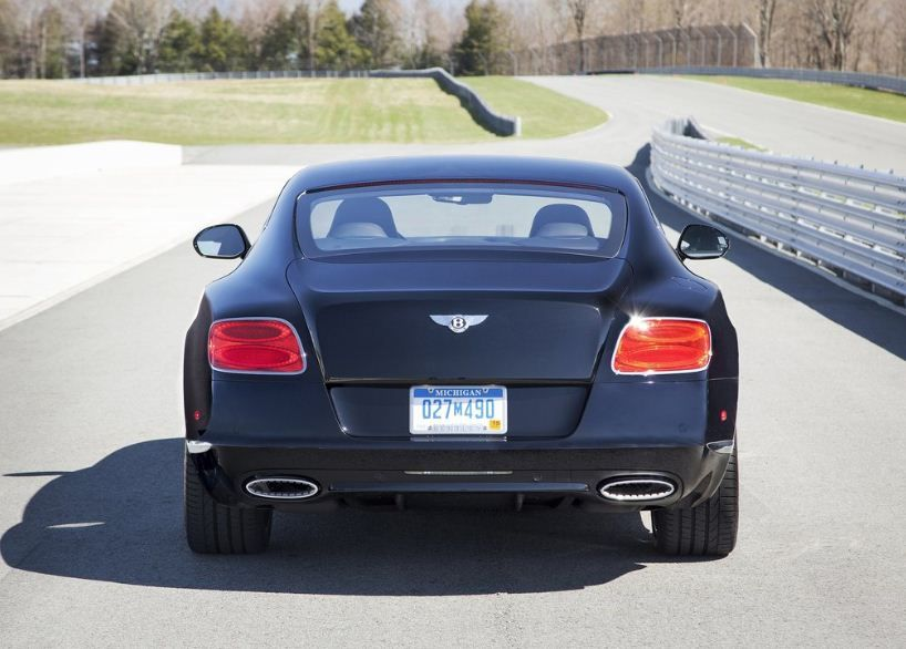 2014 Bentley Continental Gt W12 Le Mans Edition Rear View