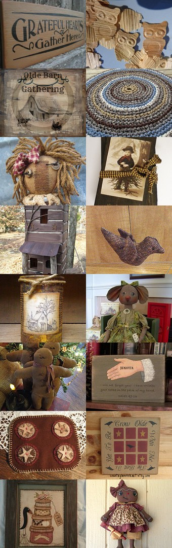 The browns..............FAAP by RENEE TOUSIGNANT on Etsy--Pinned with TreasuryPin.com