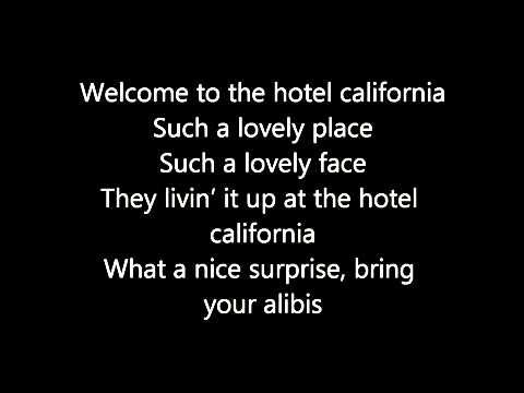 Hotel California With Lyrics Full Song Download Download Link In Description Youtube Hotel California Songs Lyrics
