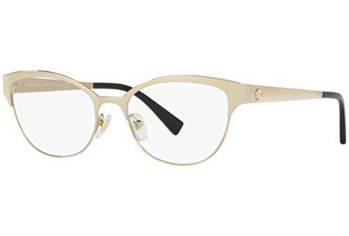 46d404f7ef9f3 Details about New Versace VE 3167 Eyeglasses Frames Black Gold GB1  Authentic 53mm