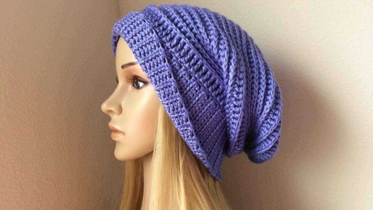 How To Crochet A Hat, Lilu\'s Handmade Corner Video # 87 | Bamboo ...