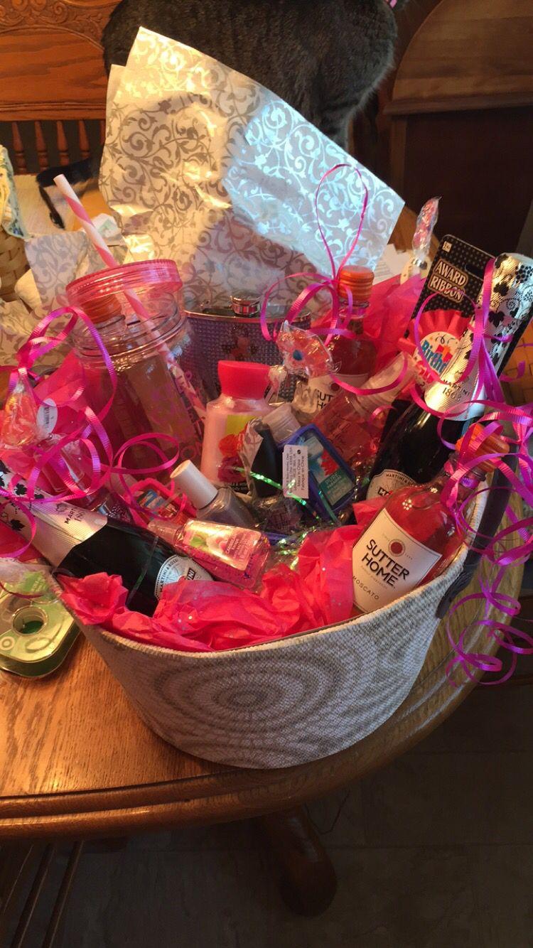 Birthday basket idea for my best friend! Best friend
