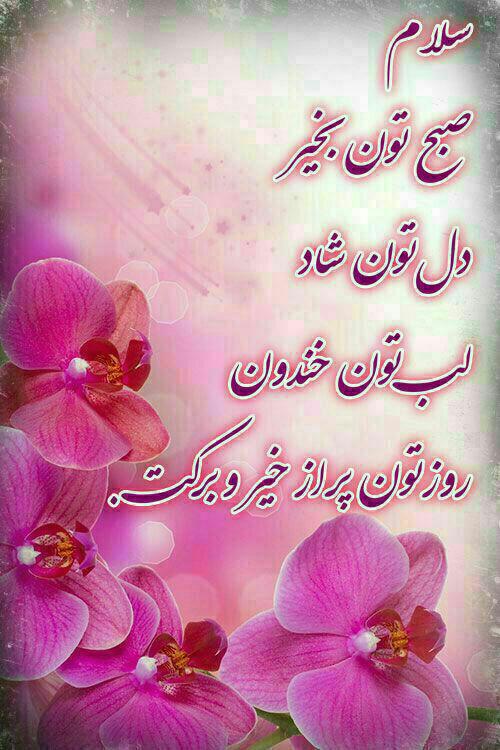 صبح دوستان عزیزم بخیر Beautiful Morning Messages Pictures With Deep Meaning Learn Persian
